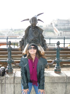 "Me looking ""normal"" ... * Budapest"